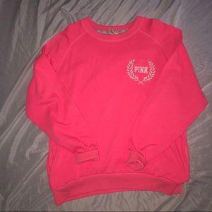 PINK crew neck sweater